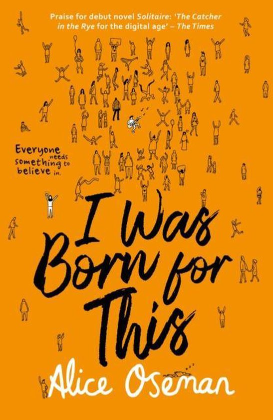 Boek cover I Was Born for This van Alice Oseman (Paperback)