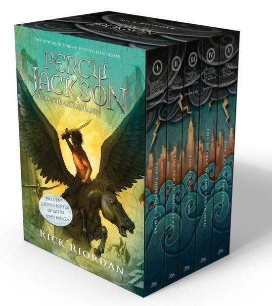 Boek cover Percy Jackson & the Olympians boxset (1-5) van Rick Riordan (Onbekend)