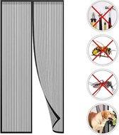 Magnetisch Vliegengordijn - Deur - Muggennet - Vlieggordijn - Hordeur - Horgordijnen- Zwart