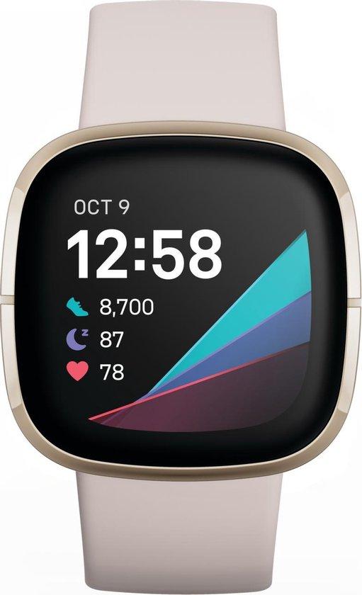 Fitbit Sense - Smartwatch - Wit
