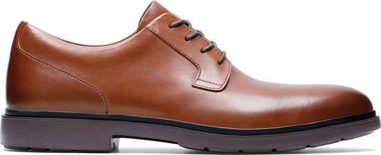 Clarks - Herenschoenen - Un Tailor Tie - H - tan leather - maat 10,5