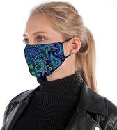 Mondkapje | mondmasker, stofmasker, mondbescherming |  = katoen, herbruikbaar, mondkapje wasbaar. Geschikt voor OV