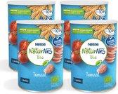 NaturNes Bio Nutripops Tomaat -  baby tussendoortje - vanaf 10 maanden - 4 stuks