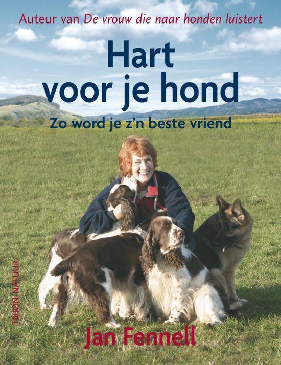 Cover van het boek 'Hart voor je hond' van Jan Fennell