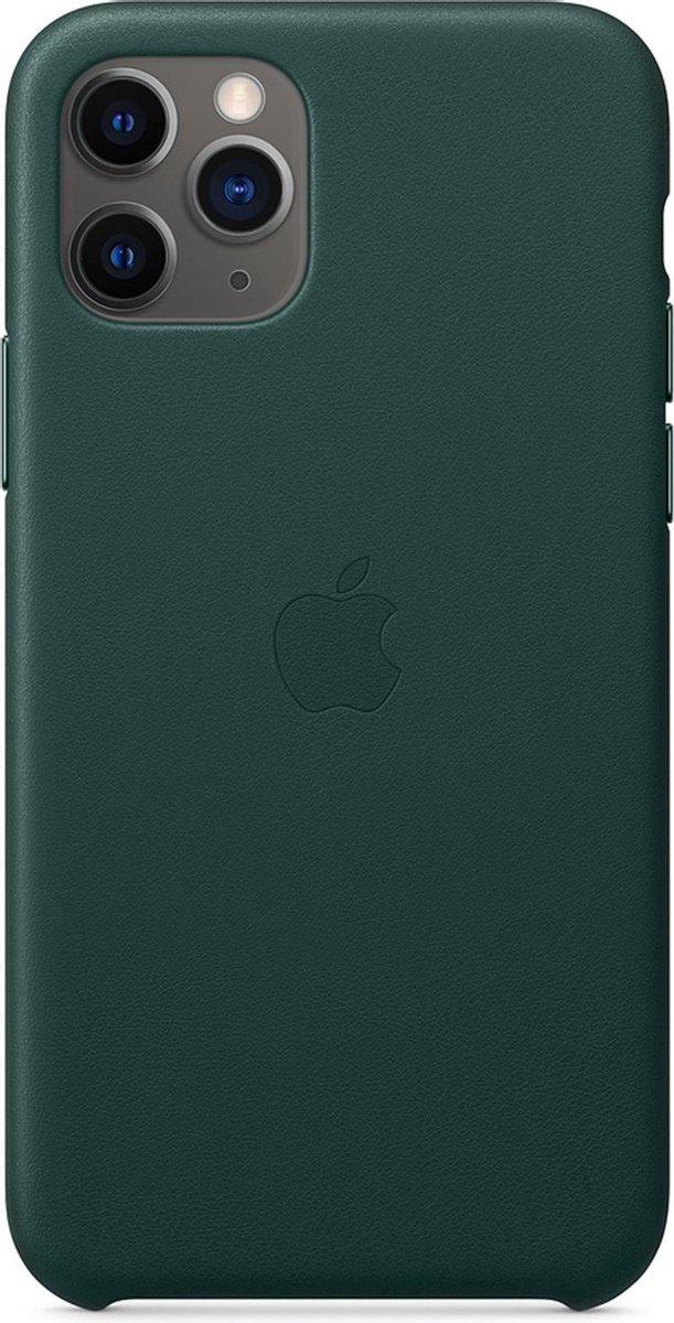 Apple Leren Hoesje voor iPhone 11 Pro - Forest Green