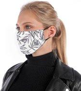 Mondkapje | mondmasker | gezichtsmasker | is van katoen, herbruikbaar, wasbaar. Geschikt voor OV