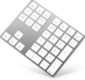 Numeriek Toetsenbord / Keyboard / Keypad | Bluetooth 3.0 / Draadloos | Apple | Voor Laptop | Nuemerieke | IOS | Windows | Dell Xps | Lenovo | HP | Surface | Numeric | Zilver |  A-KONIC©