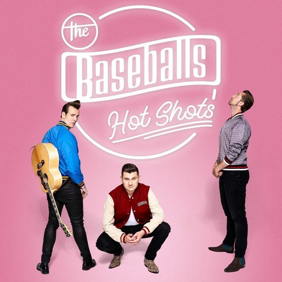 CD cover van Hot Shots van The Baseballs