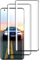 Full cover Xiaomi Mi 10 Screenprotector Glas - Tempered Glass Screen Protector 2x AR QUALITY