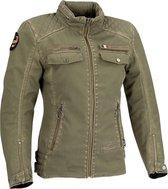 Segura Lady Frida Kaki Textile Motorcycle Jacket T4