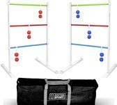 Metal 2x Laddergolf Set - in tas - Super Real GolfBolas - Luxe Robuust Sterk Swingladder Spinladder