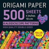 Origami Paper 500 sheets Kaleidoscope Patterns 4 (10 cm)