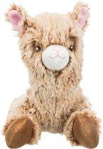 Hondenknuffel - Hondenspeelgoed pluche Alpaca Afmetingen: 22 cm