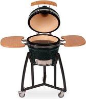 """Patton - Kamado 16"""" - Groen - Keramische barbecue - Medium - Compleet - Groen / Zwart"""
