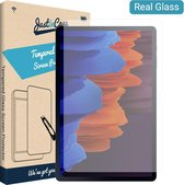 Samsung Tab S7 Plus screenprotector - Gehard glas - Transparant - Just in Case