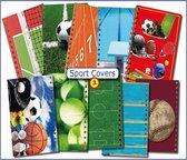 Cover Setje voor Schoolagenda A5 nr.3   SPORT