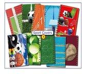 Cover Setje  nr.3 SPORT,     voor LOS bij te bestellen A5-PlanAgenda's van CitrusPers