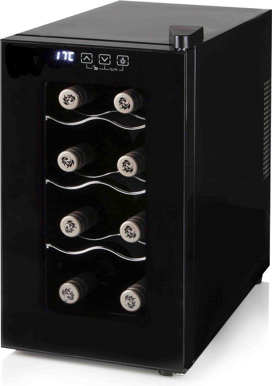 Koelkast: Primo PR108WK - Wijnkoelkast - 8 flessen, van het merk PRIMO