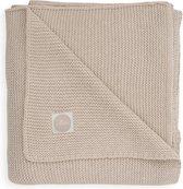 Jollein Wieg deken Basic knit 75x100cm nougat