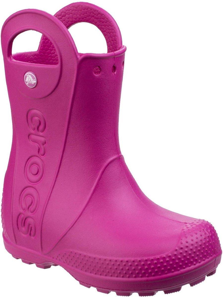 Crocs Kinderen/Kinderen behandelen het goedaardige laarzen (Snoepjesroze)