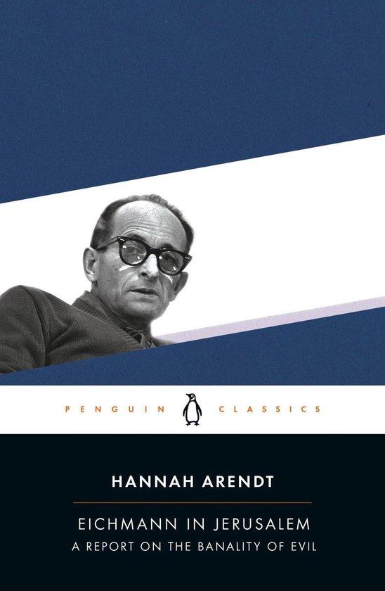 Boek cover Eichmann in Jerusalem van Hannah Arendt (Paperback)
