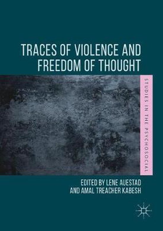 Boek cover Traces of Violence and Freedom of Thought van  (Paperback)