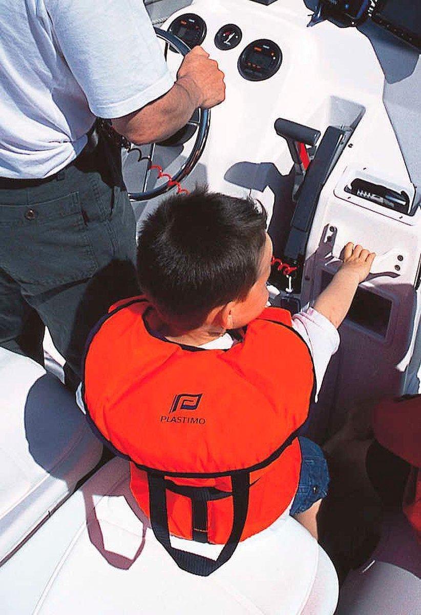 reddingsvest/zwemvest 3-10 kg Baby/kleuter t/m leeftijd 1 jaar Oranje vliegtuig motief