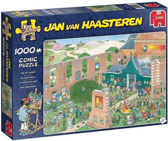 Jan van Haasteren De Kunstmarkt puzzel – 1000 stukjes