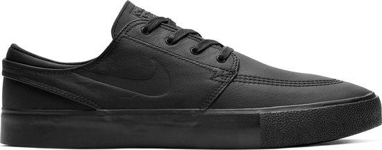 Nike Sb Zoom Stefan Janoski Rm Premium Sneakers - Black-Black - Maat 44