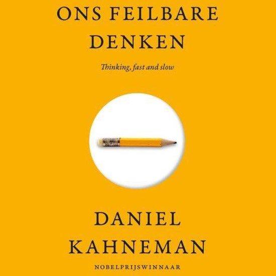 Boek cover Ons feilbare denken van Daniel Kahneman (Onbekend)