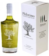 Griekse olijfolie extra vierge Philotimo 500ml - Superieure kwaliteit - Koudgeperst - Milde Smaak - Prijswinnaar Great Taste