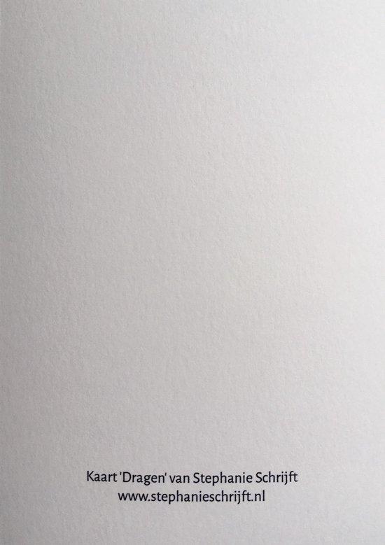 Kaart 'Dragen' van Stephanie Kaars