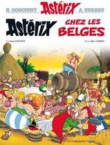 Boek cover Asterix chez les Belges van Rene Goscinny (Hardcover)