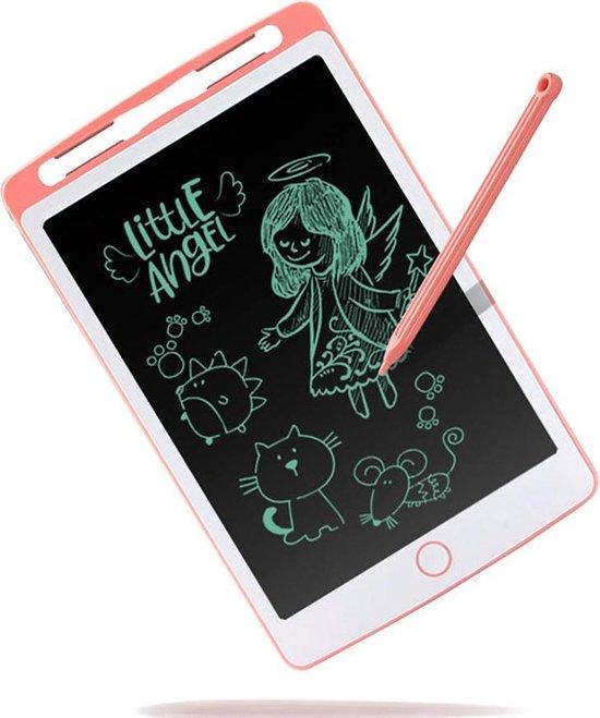 Tekenbord kinderen WBTT® - Tekentablet - LCD Tekentablet kinderen - Grafische tablet kinderen - Kindertablet Roze