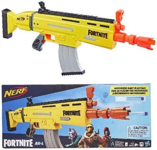 NERF Fortnite AR L Blaster Genomineerd voor Speelgoed van