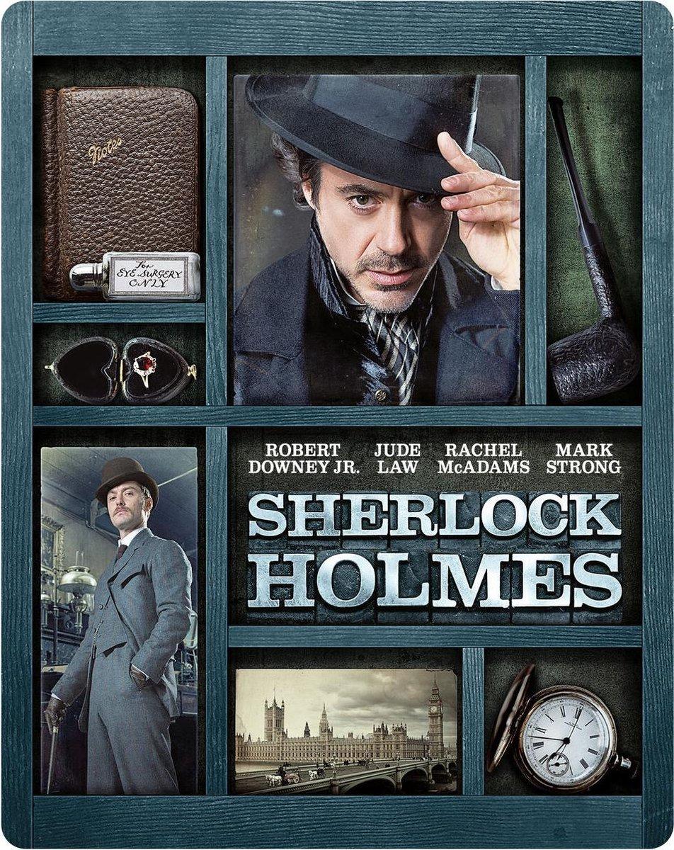 Sherlock Holmes (Steelbook) (4K Ultra HD Blu-ray)-