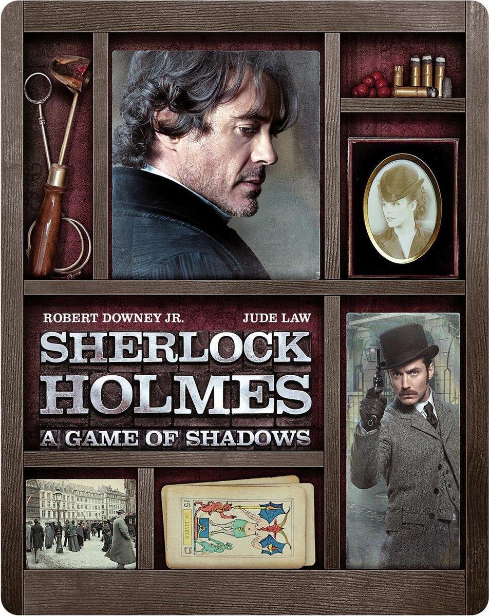 Sherlock Holmes: A Game of Shadows (Steelbook) (4K Ultra HD Blu-ray)-