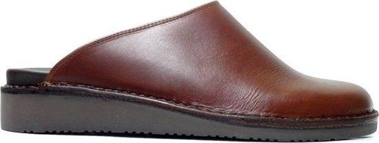Amako 590 Muil Slippers Cognac Bruin