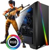 AMD Quad Core  Basics  Gaming PC Radeon R7 (Geschikt voor Fortnite en vele andere Games)