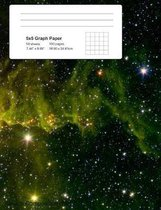 Space Graph Paper Notebook
