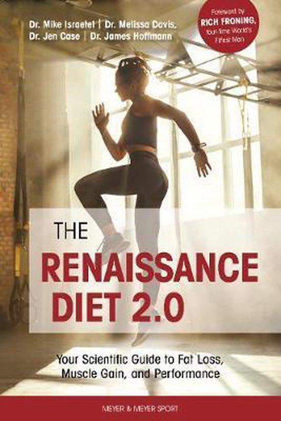 Boek cover The Renaissance Diet 2.0 van Dr. Mike Israetel (Paperback)