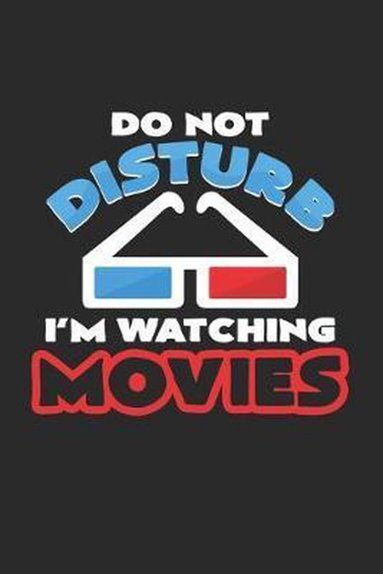 I'm watching movies: 6x9 Movies - grid - squared paper - notebook - notes