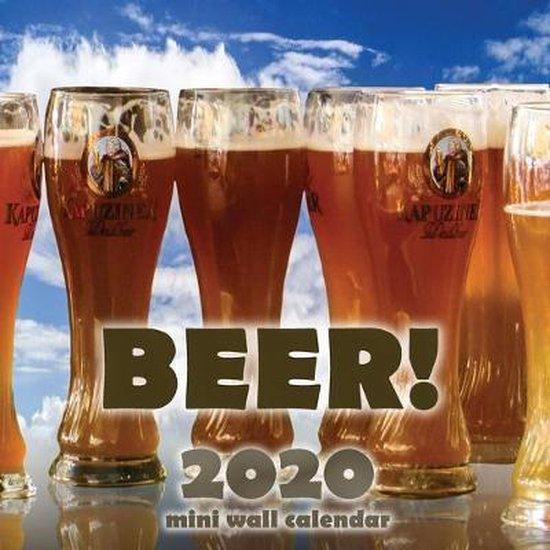 Beer! 2020 Mini Wall Calendar