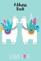 Llama Love Address Book