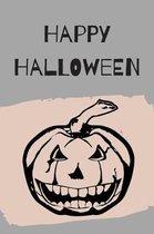 Happy Halloween: Evil Pumpkin Notebook