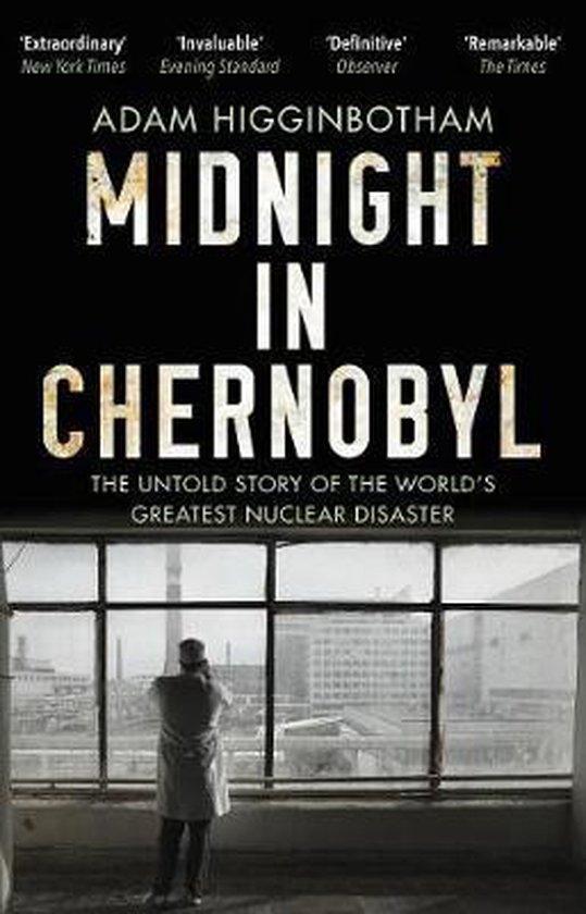Boek cover Midnight in Chernobyl van Adam Higginbotham (Paperback)