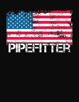 Pipefitter: College Ruled Composition Notebook