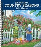 John Sloane's Country Seasons 2021 Monthly/Weekly Planner Calendar