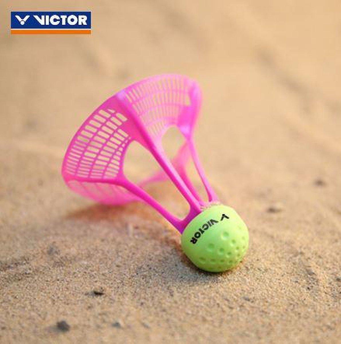 VICTOR shuttle voor Airbadminton | the new outdoor game