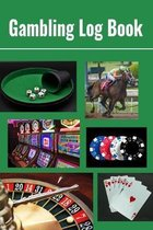 Gambling Log Book: 6 x 9 Gambler Notebook Record of Wins, Losses, Promotions & Table Notes Collage Cover (100 pages)